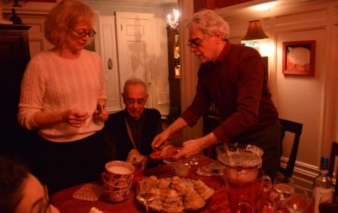 Acting Associate Dean of Fordham Lincoln Center, Mary Bly, hosts students at her home every Sunday for dinner.
