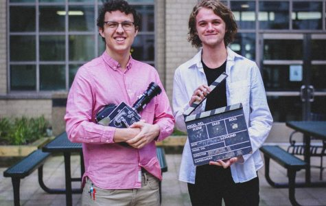 Luke Momo, FCLC '19, is the former president and founder of the Filmmaking Club and has passed on the torch to Tommy Cunningham, FCLC '21, who serves as the current president.