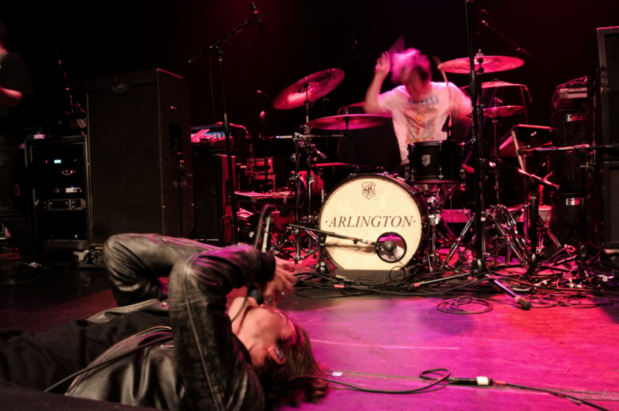 Josh+Raven+of+The+Faim+laid+it+all+out+before+the+band%27s+gig+at+The+Gramercy.