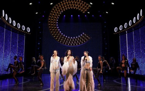 "Teal Wicks, Stephanie J. Block and Micaela Diamond as Lady, Star and Babe Cher in ""The Cher Show,"" now open at the Neil Simon Theatre."