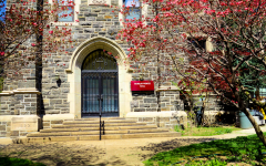 With about 130 members, the Jesuit communities at Fordham University make up the largest group of Jesuits within the New York Province; Murray-Weigel Hall hosts the New York Province's infirmary and retirement residences (VIA WIKIMEDIA).