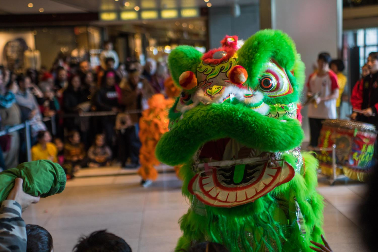 Celebrate the Chinese New Year with Fordham students.