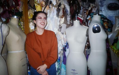 Former poli-sci major Alyssa Rosenberg, FCLC '21, discovered her true passion in the costume shop.