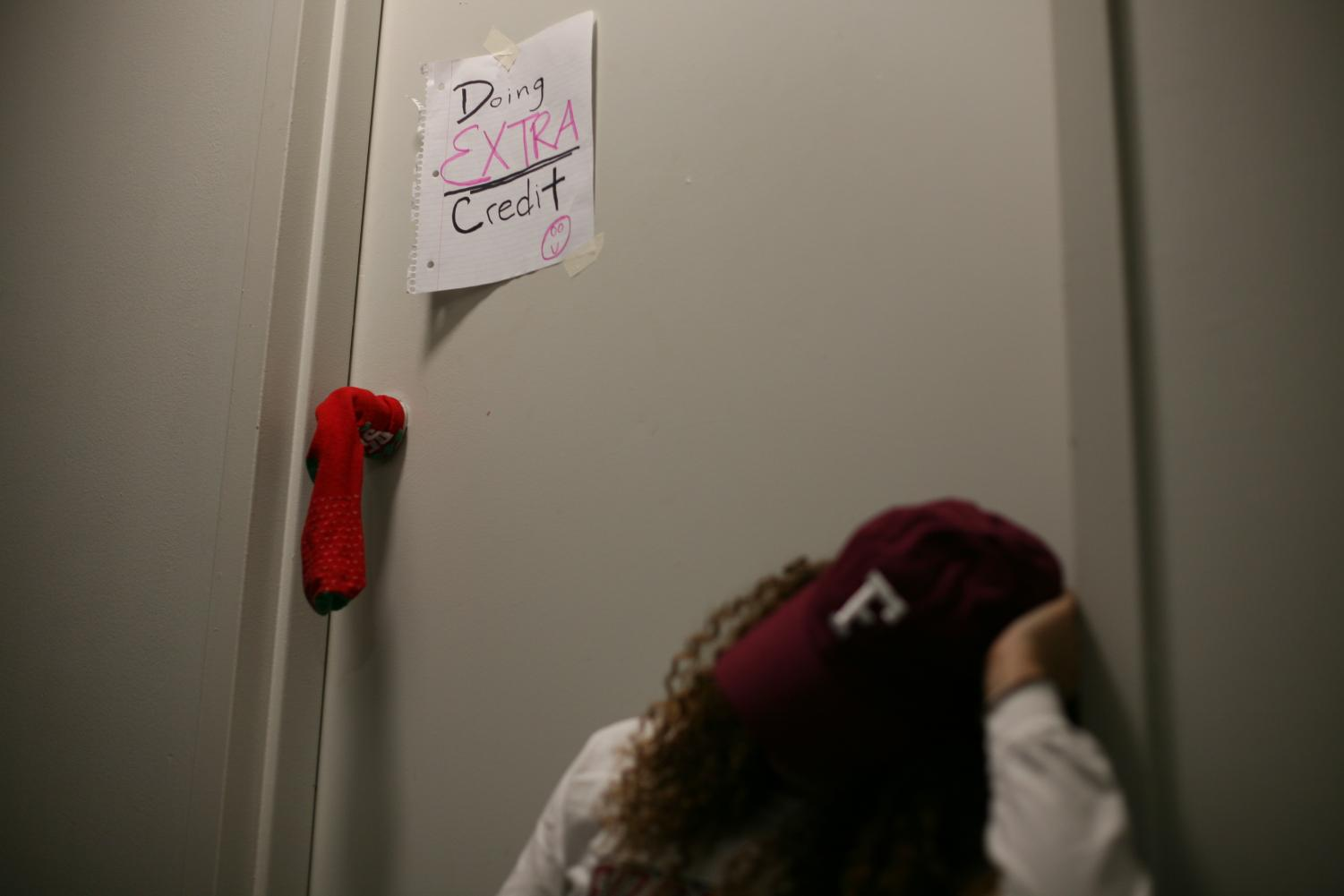 A sock on the door may not be the best solution to every problem. (TITO CRESPO/THE OBSERVER)