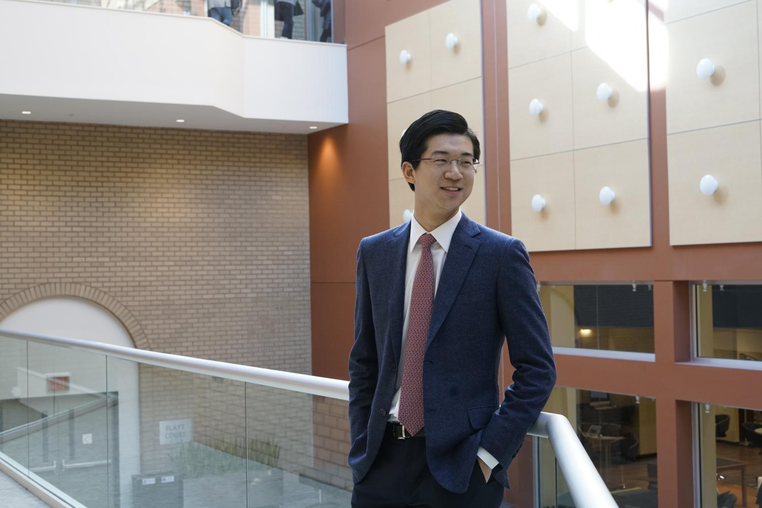 Tony Yancheng Li is an international finance major, has had numerous internships and loves choir.