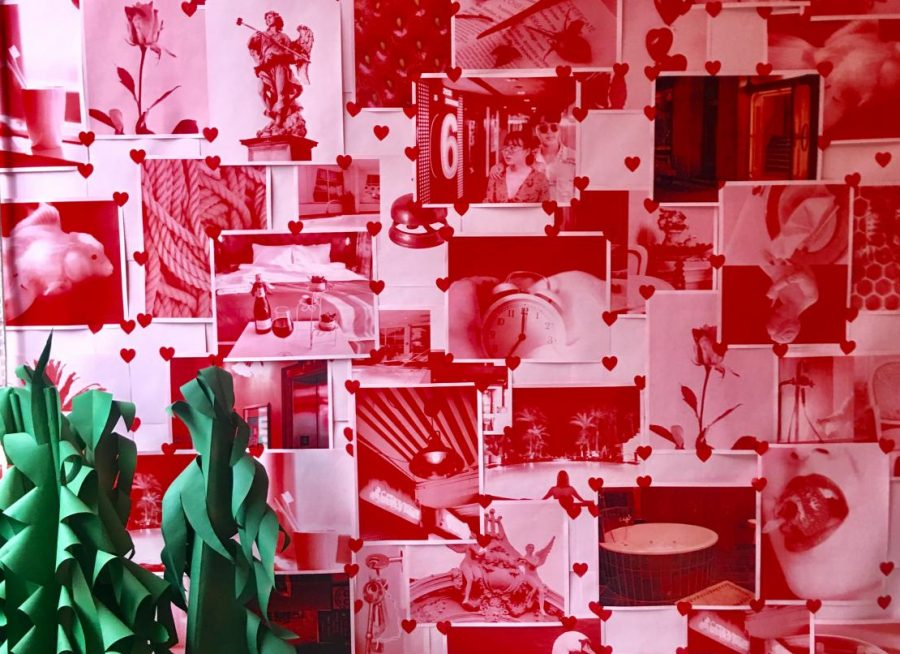 "Unlike many installations, ""Love Hotel Rooms"" allows the viewer to participate in the exhibition by inviting them to recall and recreate a room they once loved or one they have been loved in."