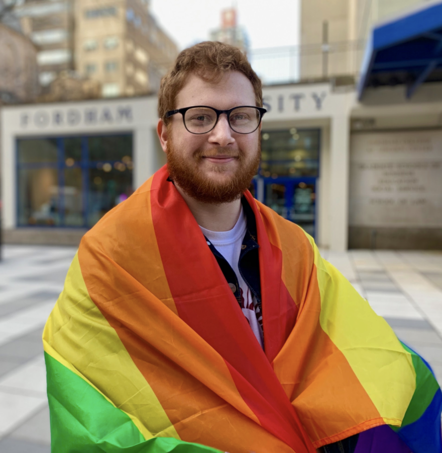 Bugbee has become a prominent voice for the LGBTQ community on campus. (AMINA VARGAS/THE OBSERVER)