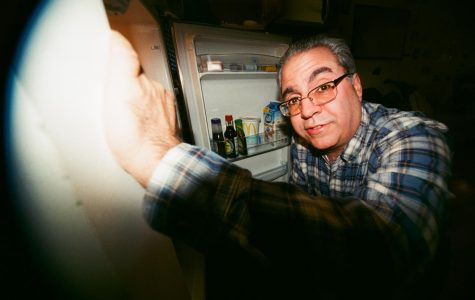Joe's Dad in the fridge. February 2019.