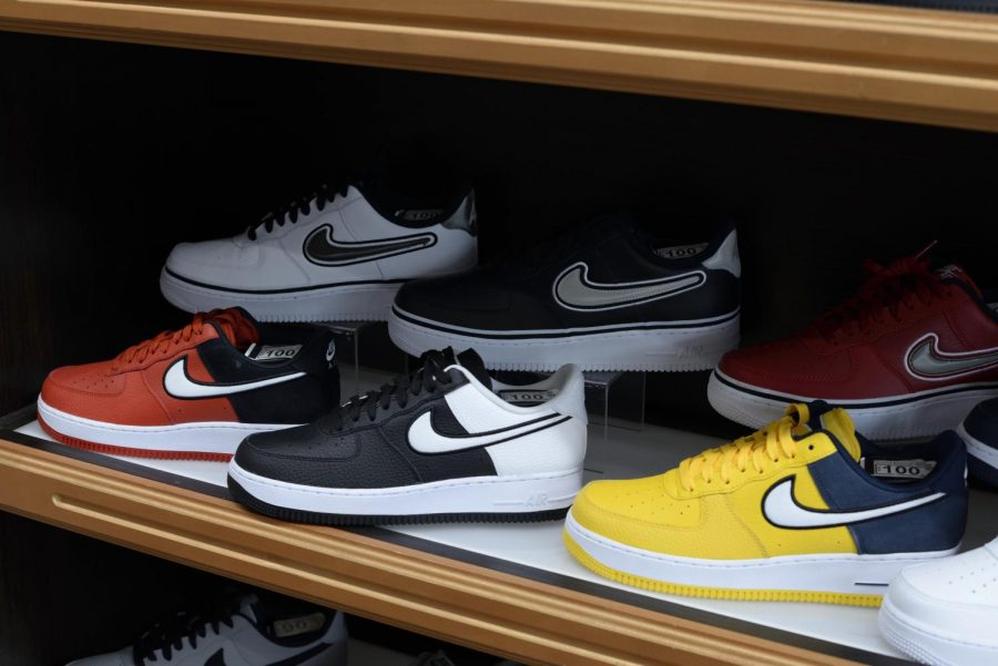 There's one shoe that rules Fordham Lincoln Center: Nike's Air Force 1.