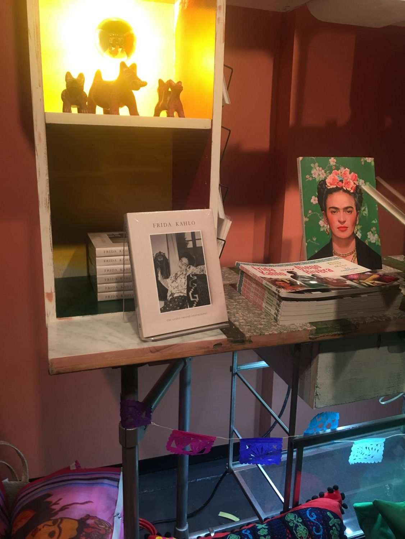 The Frida Kahlo exhibit,