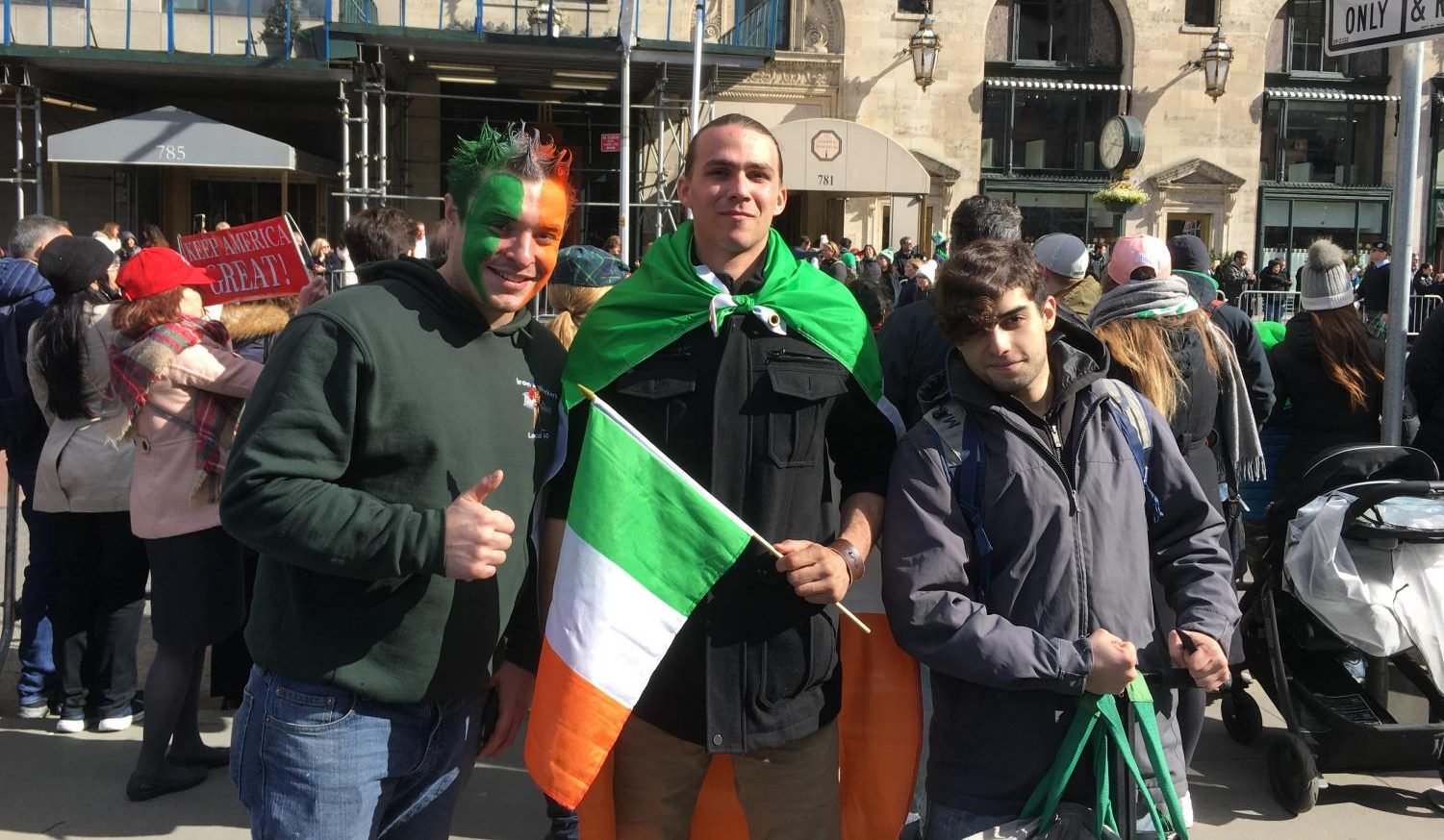 Fordham's campus may be quiet, but the city comes alive to celebrate the Irish-Catholic holiday.