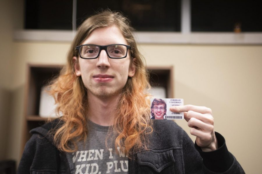 Community members like Kassandra D'Aniello, FCLC '21, who is transgender, will be able to obtain new IDs.