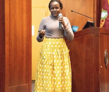 Rwandan Genocide Survivor Brings Hope to Campus