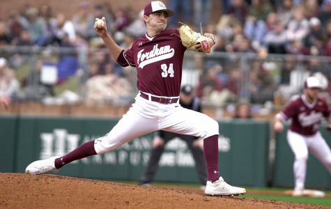 After a strong sophomore season, Brian Weissert, FCRH '20, will try to step into a prominent role on a young Fordham pitching staff.