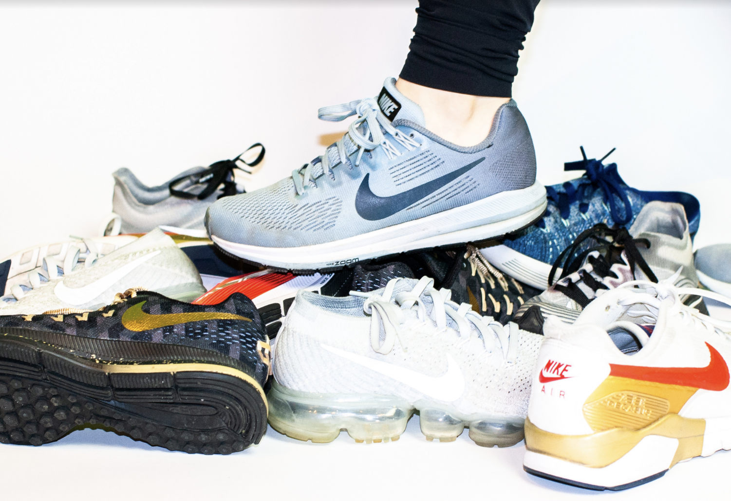 Brands like Nike, Adidas and Brooks carry many different models of shoes made for all kinds of feet.