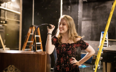 Emily Krichmar, FCLC '21, uses stand up comedy to transform her mental health into something positive. Zoey Liu/The Observer.