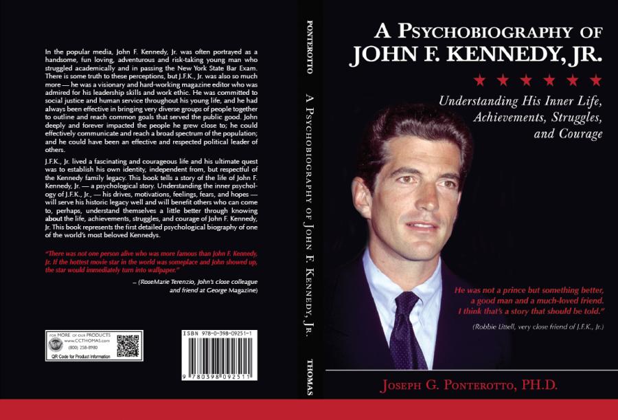 Professor Ponterotto's psychobiography re-examines JFK, Jr.'s life and legacy.