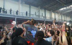 Juice WRLD Rocks Fordham Swipe-Off Concert