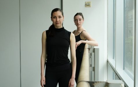 Amanda Egan and Siobhan Murray are two of 32 seniors from the Fordham/Ailey B.F.A. Program. Like some of their peers, they plan to audition for professional dance companies.