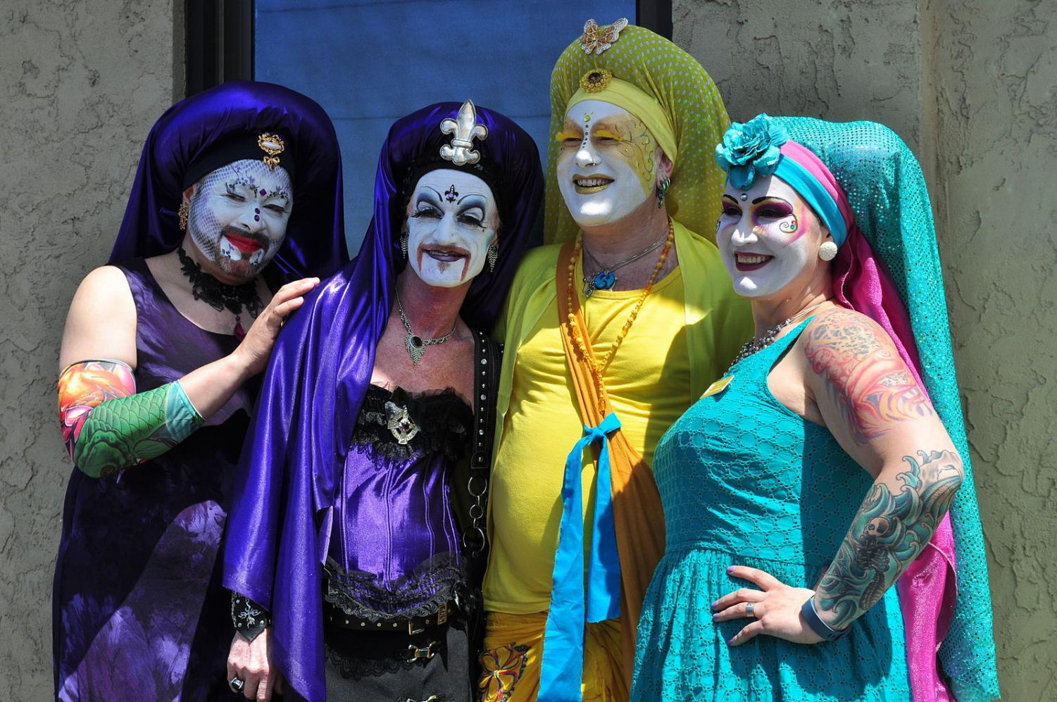 Drag group toes the line between respectfully parodying and disrespecting the Catholic Church