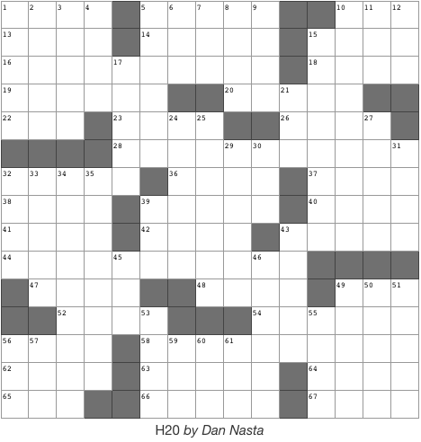 Issue 3 Crossword - 2/21/19