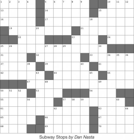 Issue 5 Crossword - 3/28/19