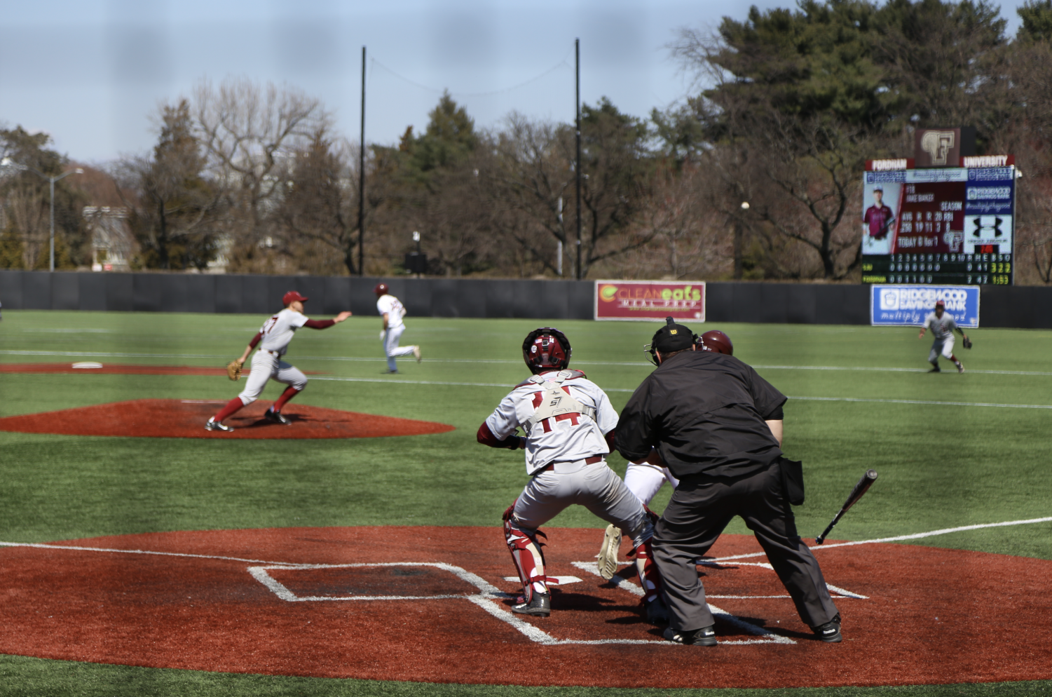 In their three-game series, Fordham's offense showed flashes of brilliant play.