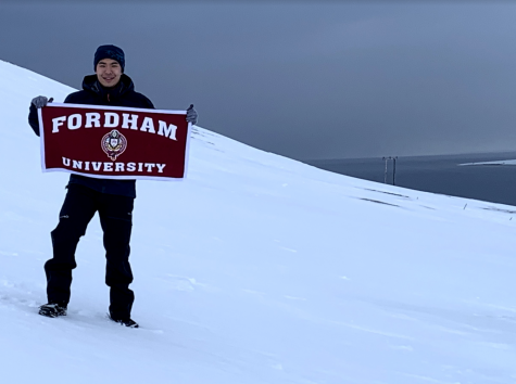 To train, Pang ran in subzero temperatures above the Arctic Circle.