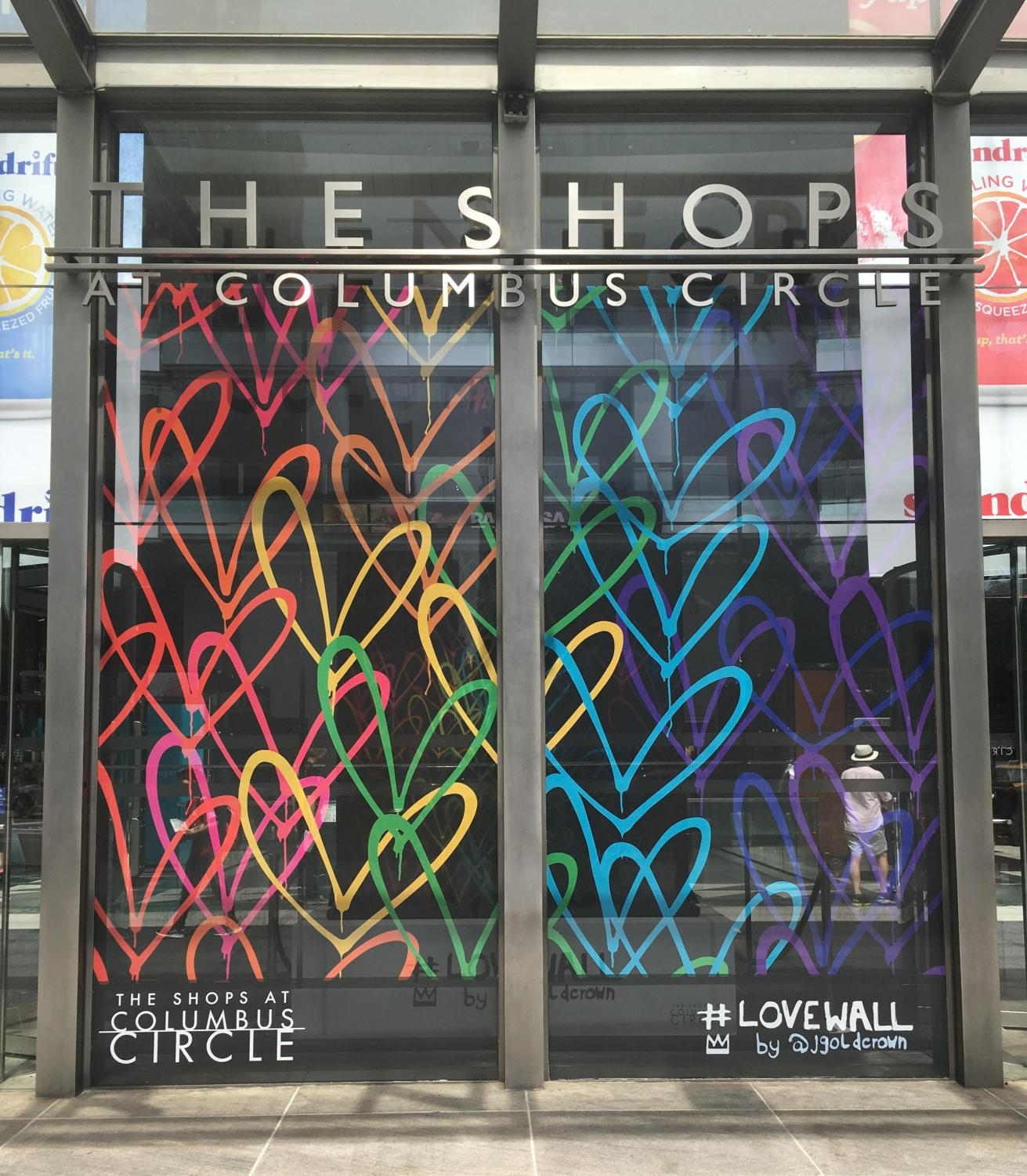 The Shops at Columbus Circle and various other NYC shops, clubs and museums are hosting special events to celebrate Pride Month.