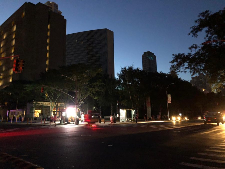 Fordham Lincoln Center blackout