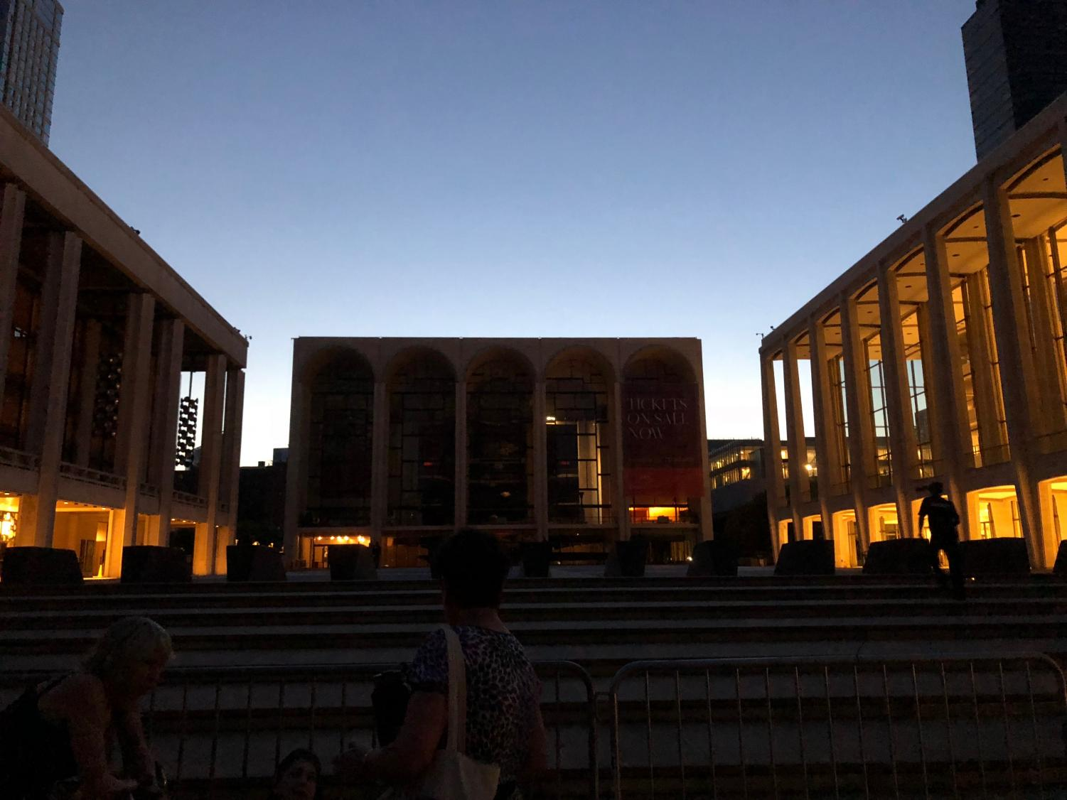 Lincoln Center blackout