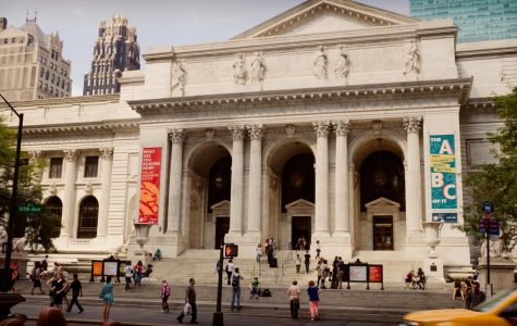 When you and I are at school, we still have a great local library — in fact, the New York Public Library is the largest and one of the most active libraries in the country.