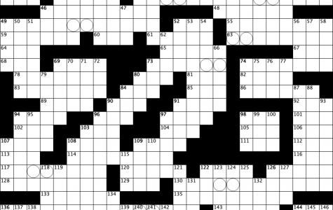 July Crossword