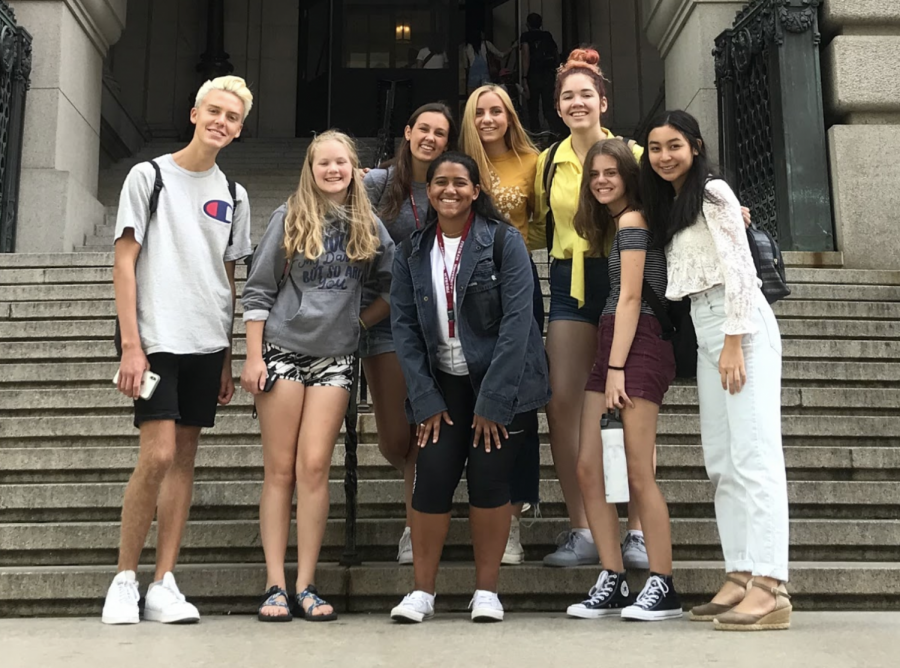 Students from the Class of 2023 who participated in Urban Plunge had an early start learning about all New York City has to offer, as well as the mission of Fordham University.