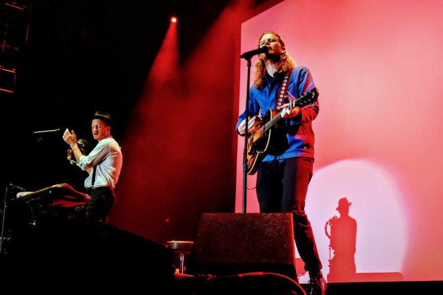 """The Lumineers debuted the accompanying film for their newest project, """"III"""" in New York with an acoustic performance following the film."""