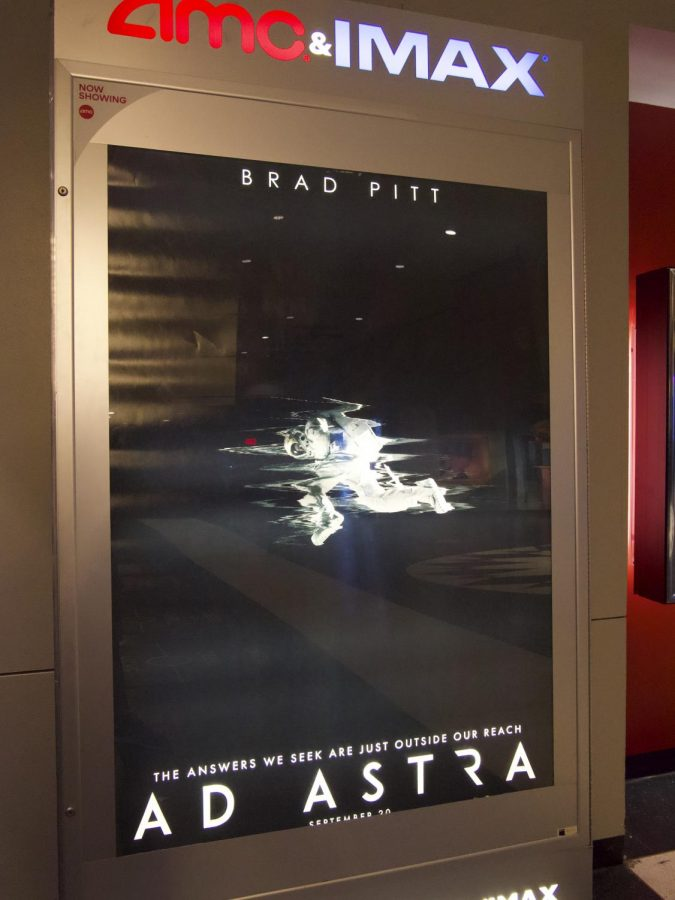 Brad Pitt stars in the new space epic