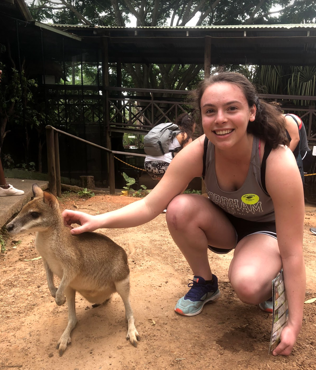 Casale chose Australia because she wanted to study abroad in a country she'd never get to visit otherwise.