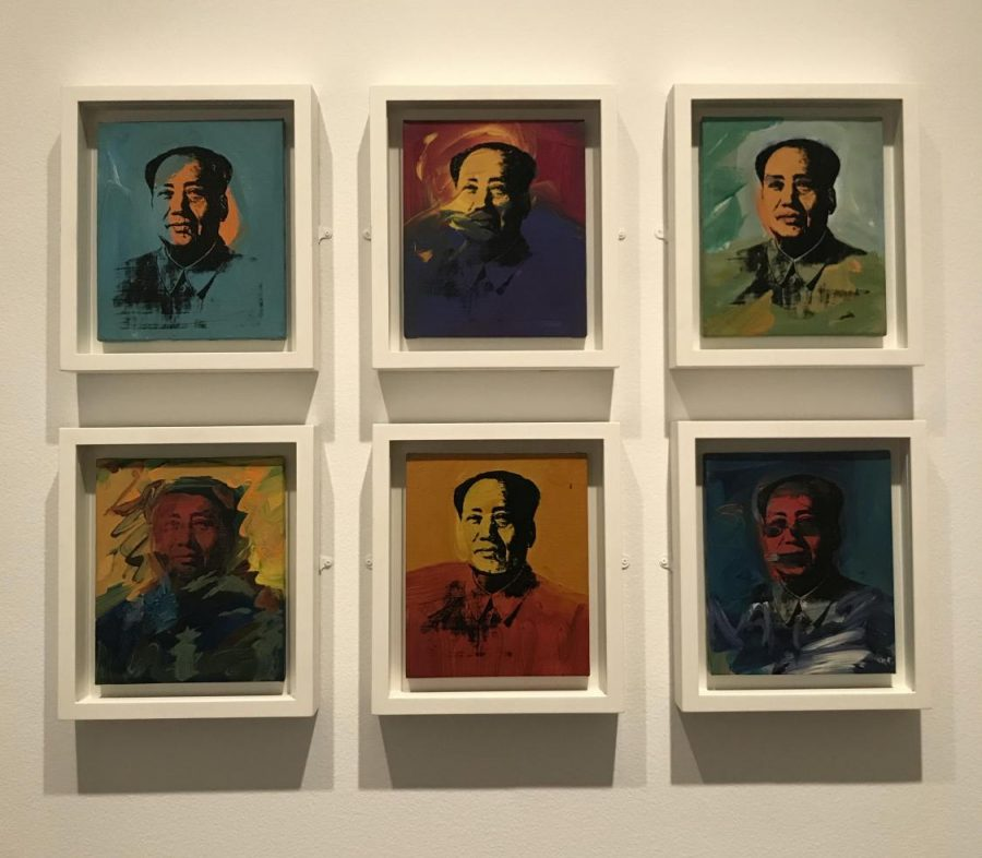 Many Mao. Andy Warhol's