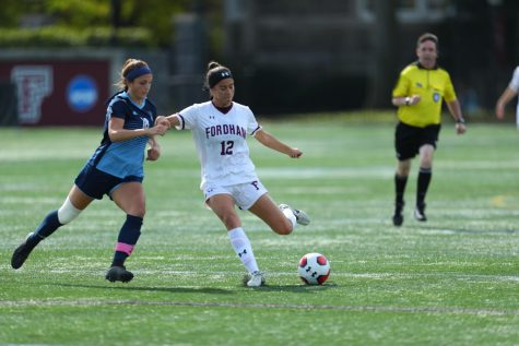 Women's Soccer Settles for a Draw Against URI