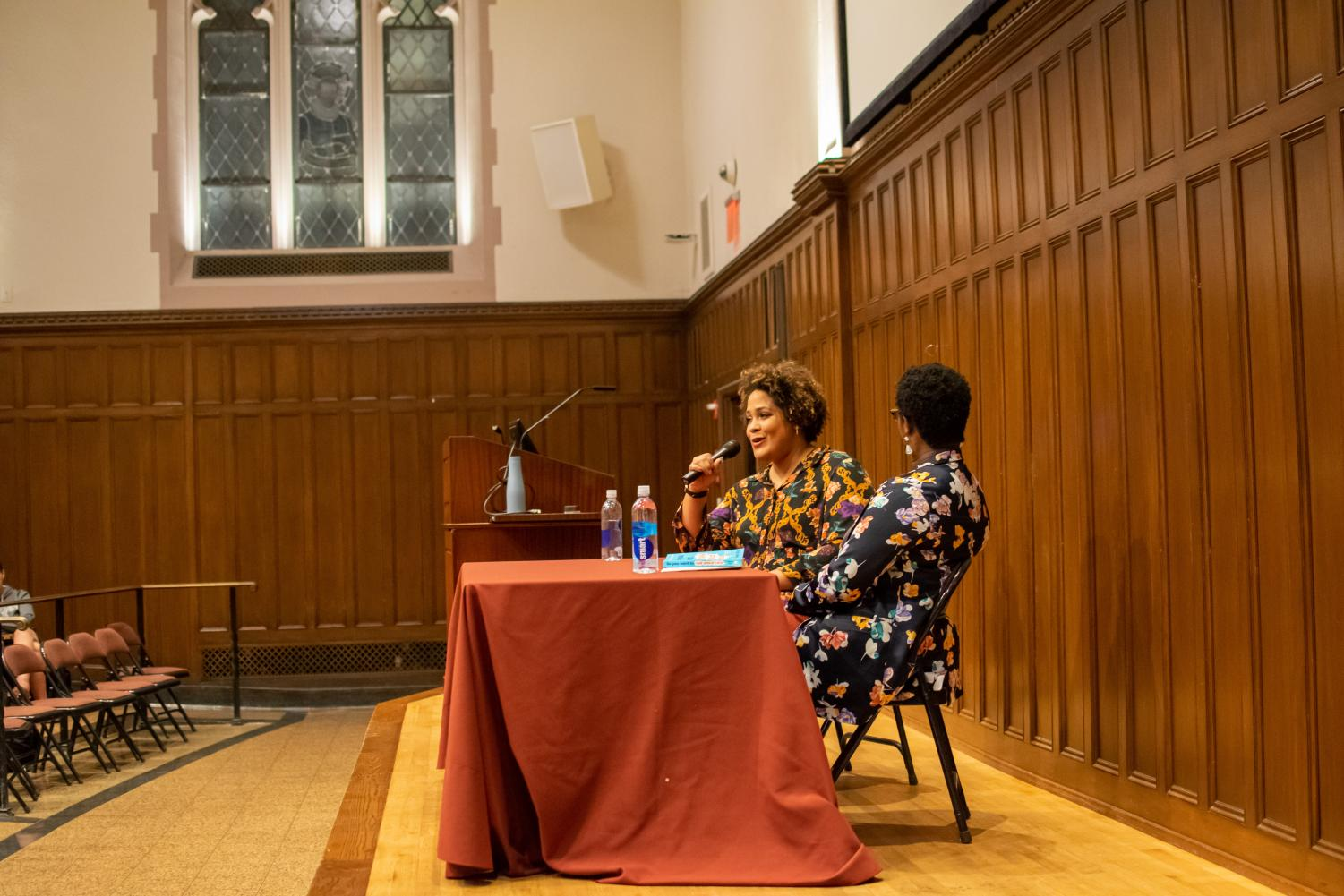 The event was held by 'The Bronx Is Reading,' the sponsors of The Bronx Book Festival, held at Fordham Rose Hill.