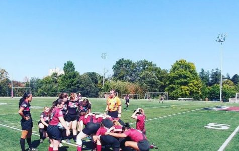 Women's Rugby Fights for Fun in Bard Friendly Match
