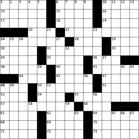 Crossword Issue 10: All Fall Down