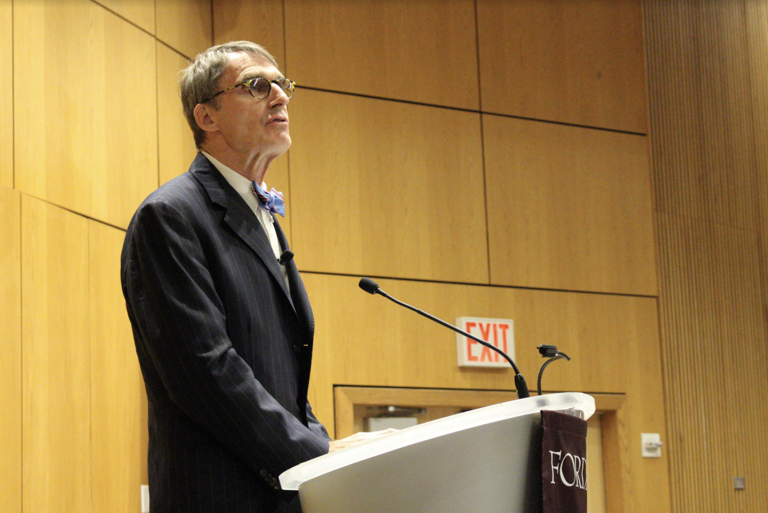 James Grant spoke to Gabelli students about historical economist Walter Bagehot and the power of money in society.