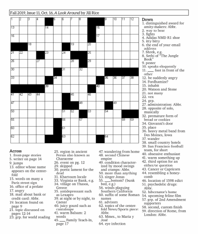 Crossword Issue 11: A Look Around