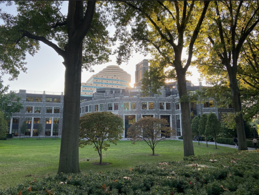 Thanks to a partnership with Bloom Energy, the Walsh Library at Rose Hill will be powered  by clean energy servers starting sometime this year.