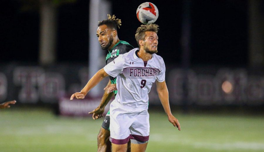 Johannes+Pieles%2C+Gabelli+School+of+Business+at+Rose+Hill+%28GSBRH%29+%E2%80%9920%2C+gets+past+a+defender+and+attempts+a+header.+