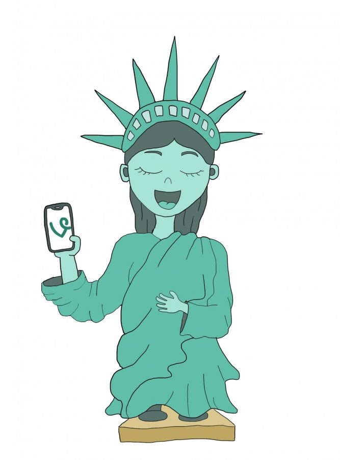 Move+over%2C+Lady+Liberty.+Vine+is+the+new+representative+of+American+culture+and+art.