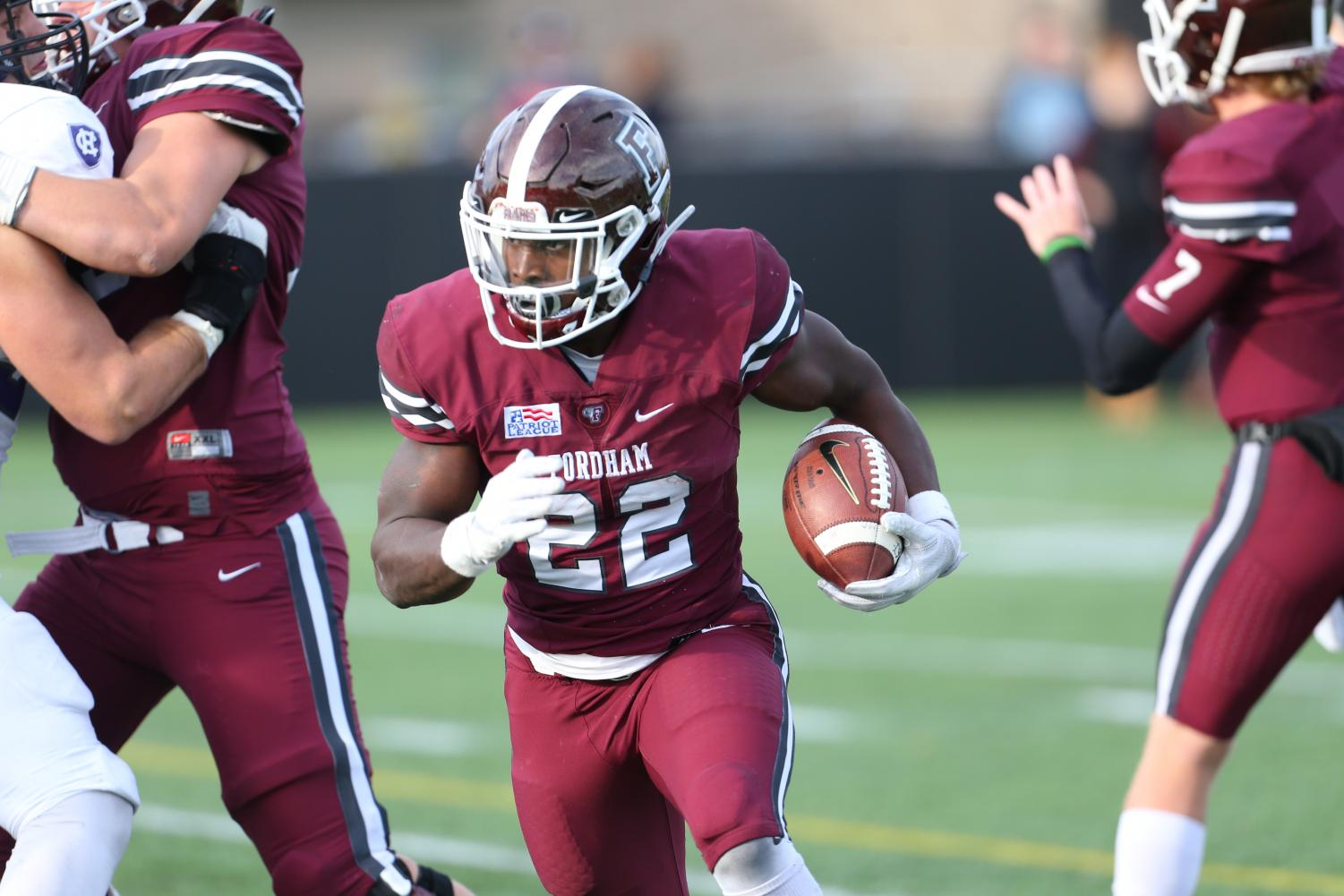 Following his time at Fordham, Edmonds was drafted by the Arizona Cardinals in the 2018 NFL Draft.