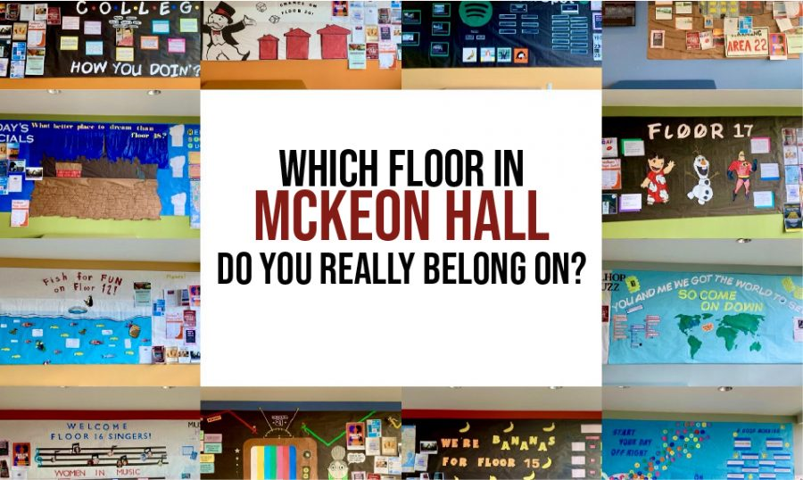 Which Floor in McKeon Hall Do You Really Belong On