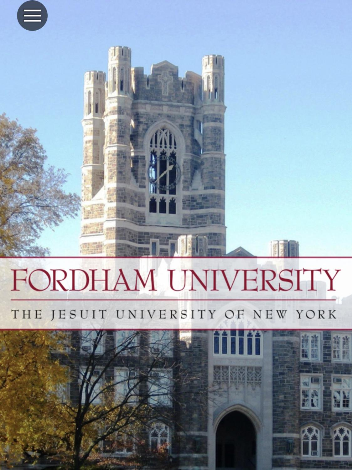 App-athy: With so many Fordham apps, it is up to students to determine which ones are the most useful.